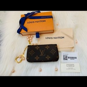Louis Vuitton KEY CLES POUCH Monogram